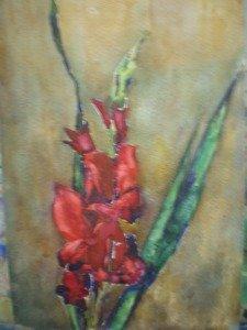 Зарисовки цветов. Пленэрные и натурные зарисовки на нейтральном фоне.